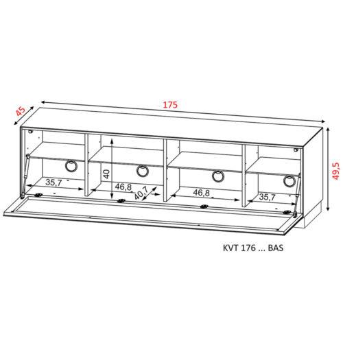 Disegno Tecnico Kairos Home Ventimiglia KVT 176 BAS