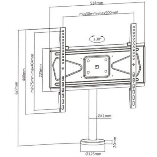 Disegno Tecnico Supporto KC 055