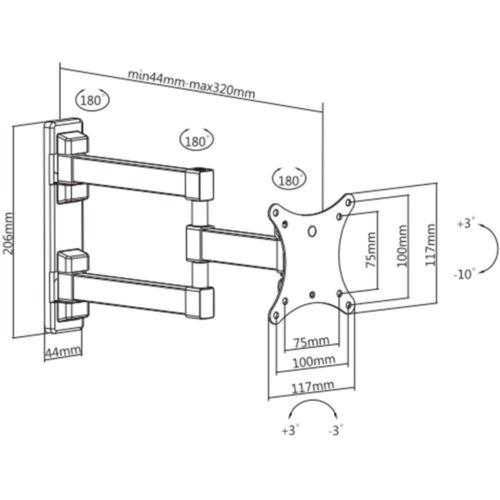 Disegno Tecnico Supporto SK 112
