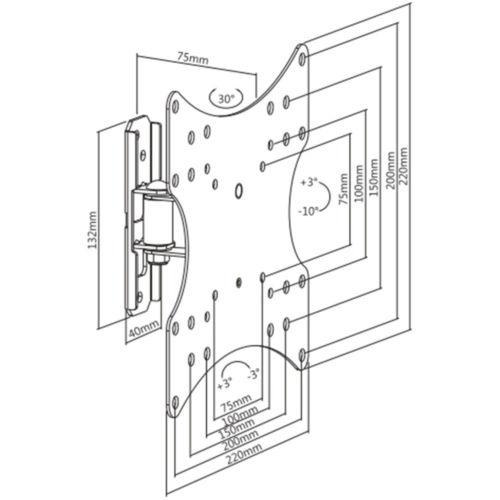 Disegno Tecnico Supporto SK 120