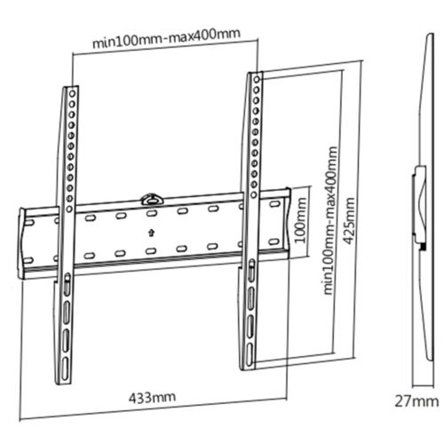 Disegno Tecnico Supporto SK 140