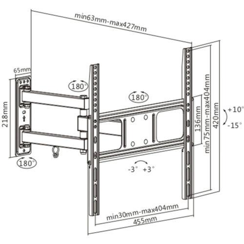 Disegno Tecnico Supporto SK 142